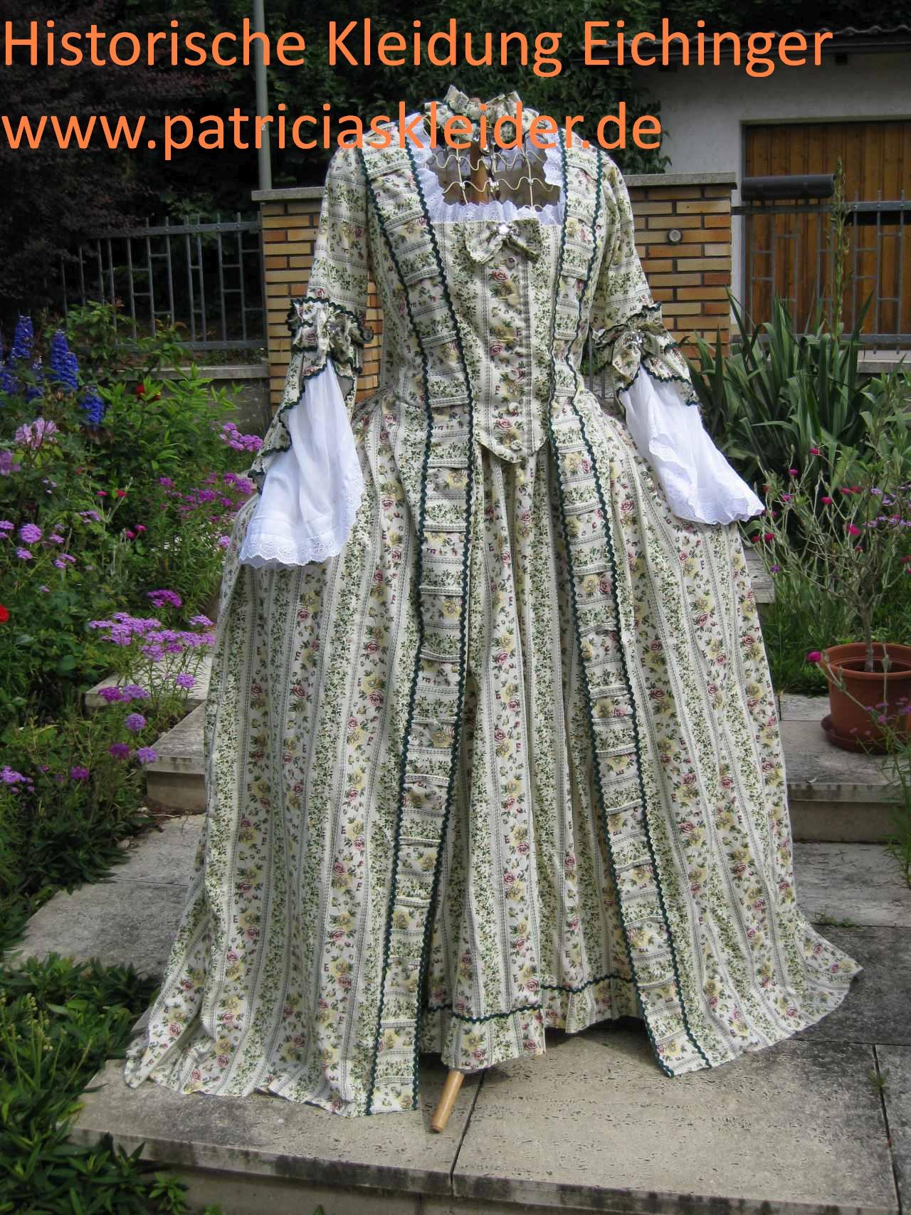 Rokoko Historische Kleider und Kostüme